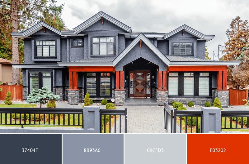 انتخاب رنگ ساختمان